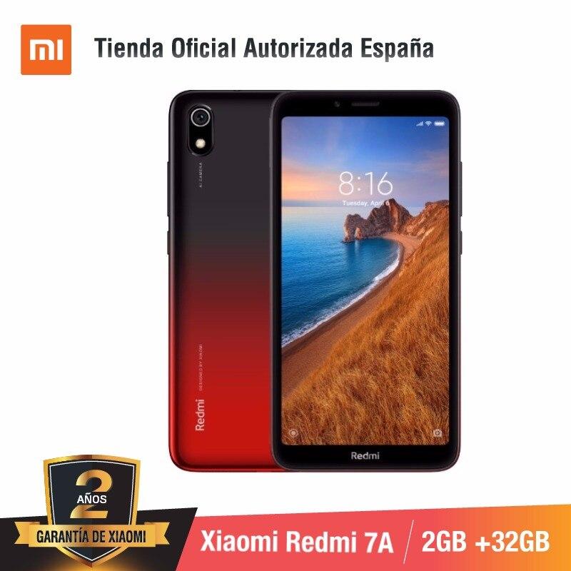 [Versão Global para a Espanha] Xiaomi Redmi 7A (Memoria interna de 32 GB, RAM de 2 GB, Camara de 13MP + 5 MP) Movil