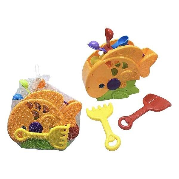 Beach Toys Set Happy Fish (3 Pcs)