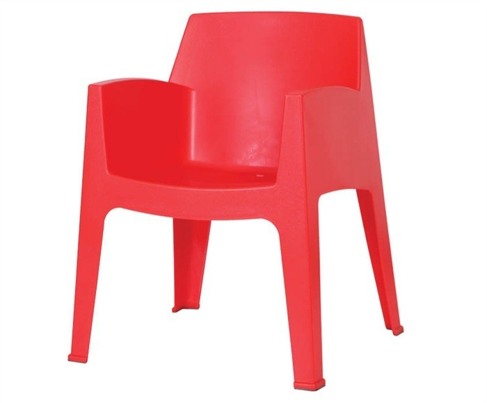 Armchair POOL, Stackable, Polypropylene Network