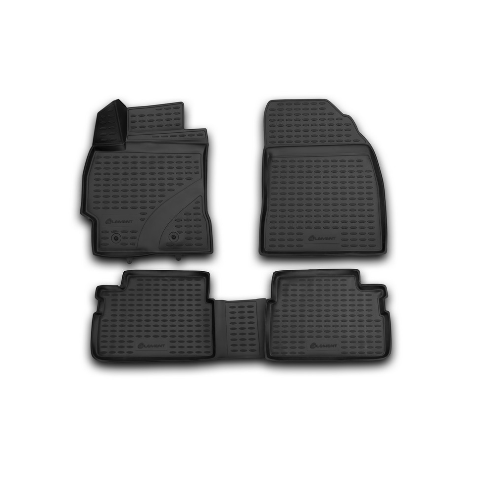 3D Mats In The Interior For TOYOTA Corolla 01/2007-2013. NLC.3D. 48.15.210k