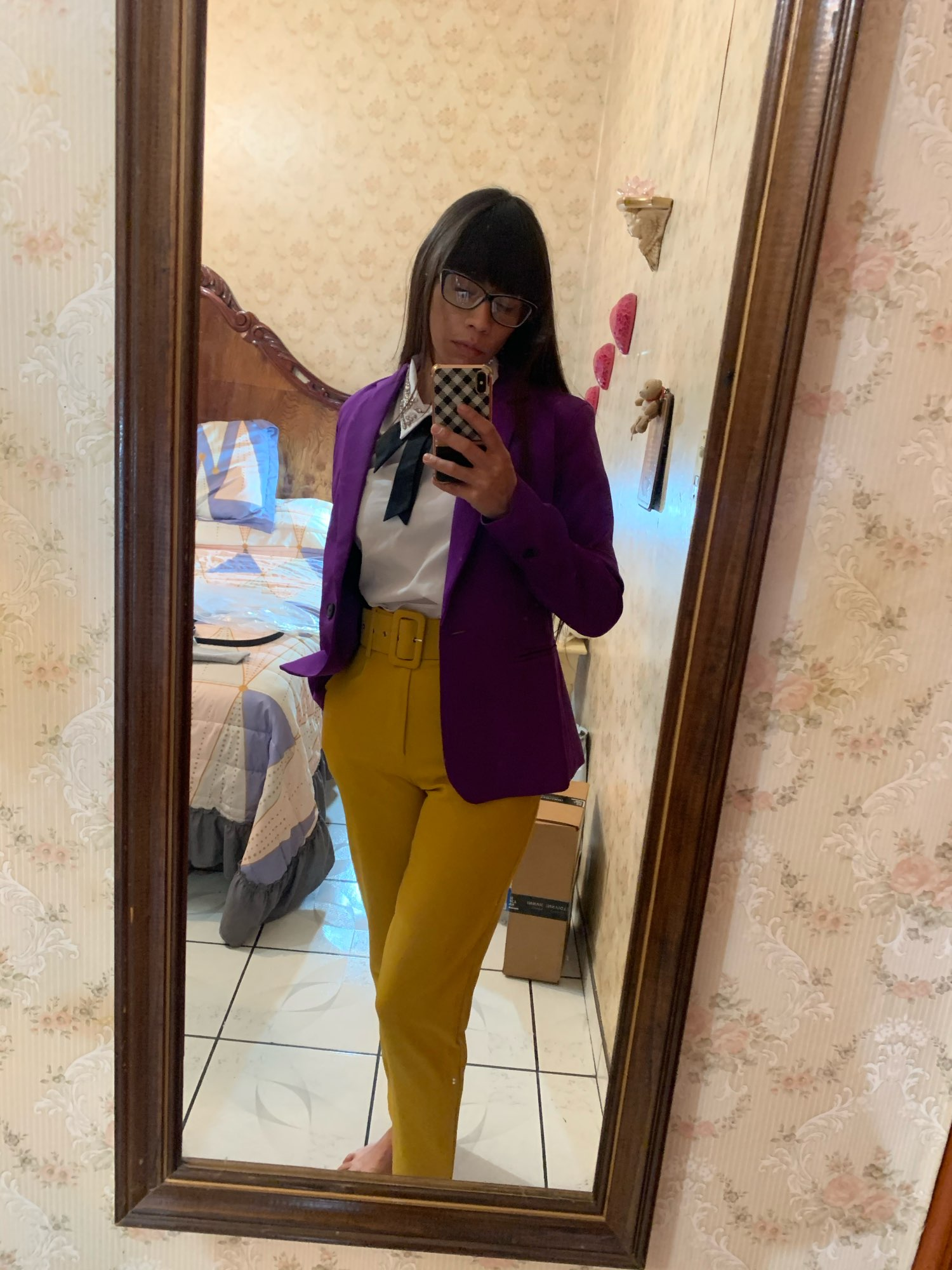 KPYTOMOA Women 2020 Fashion Office Wear Basic Blazer Coat Vintage Long Sleeve Pockets Female Outerwear Chic Tops reviews №1 798787