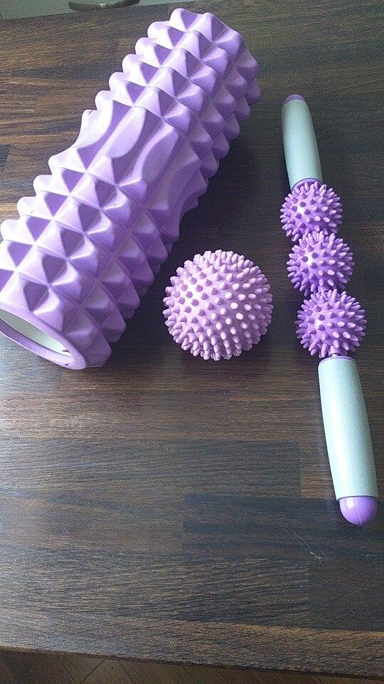 Massage Foam Yoga Set, 3 Pcs photo review