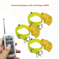Dog Training Beeper Collar for Hunting Dogs Rechargeable Remote Control Tracking Collars with 3 collars 100g2280