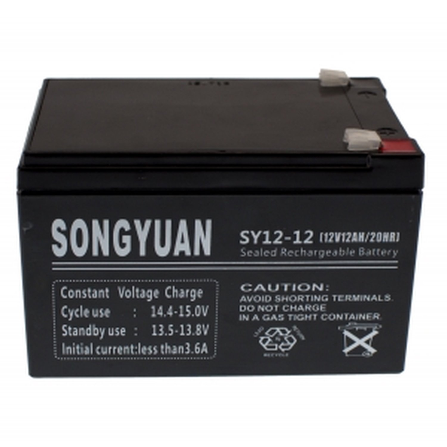 Lead Battery Sealed Rechargeable 12 V/12Ah Ref Sy12-12 Np12-12 Fg21202 Lc-Ra1212Pg1 Np12-12