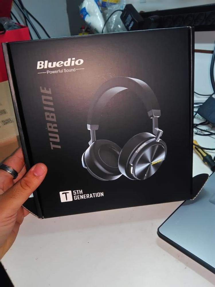 Bluedio T5 HiFi Active Noise Cancelling headphones wireless bluetooth Over ear headset with microphone for phones & music-in Phone Earphones & Headphones from Consumer Electronics on AliExpress
