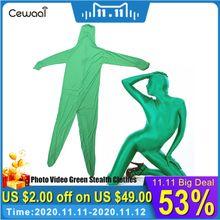 Terno de pele para fotografia, tela verde elástica, para corpo, tela colorida, chaveiro cromado, efeito invisível confortável, imperdível