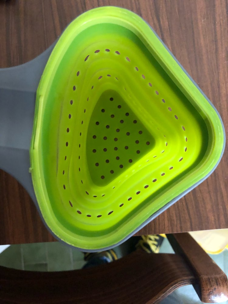 Foldable Silicone Colander Strainer photo review
