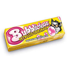 Bubblicious Mixed Fruit Flavored Sugared Bubble Gum 38 gr FREE SHİPPİNG