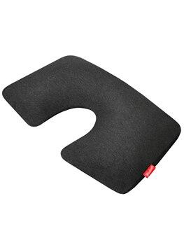 10000013086063 - MAYAKNI Store - Almohada inflable de primera clase, de algodón, con funda, color gris oscuro