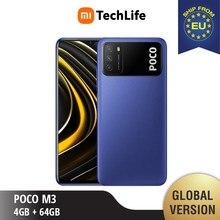Versão global poco m3 4gb ram 64gb rom (novo/selado) pocom3, poco, telefone móvel