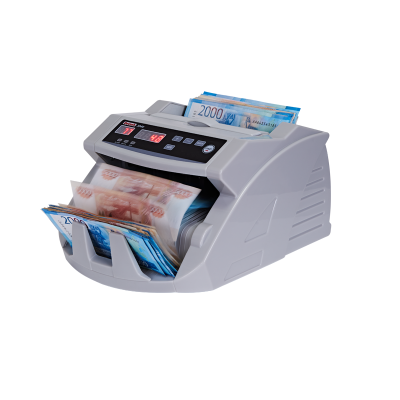 Bill counter, counter money counting machine money detector docash 3040 UV. image