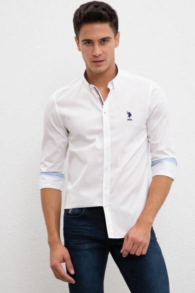 U.S. POLO ASSN. Plain Slim Shirt