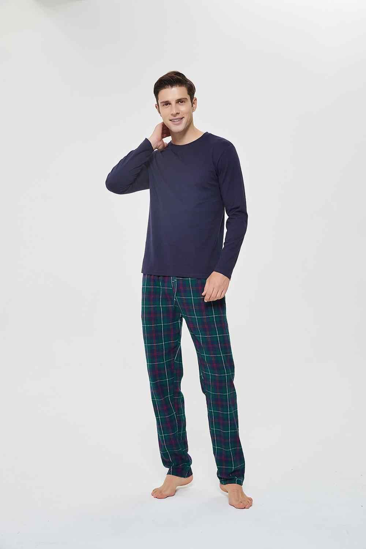 Pimpamtex Pijama Hombre Franela 100 Algodon Manga Larga Y Pantalon Largo Para Dormir Pijama De Invierno Suave Y Confortable Sets De Pijama De Hombres Aliexpress