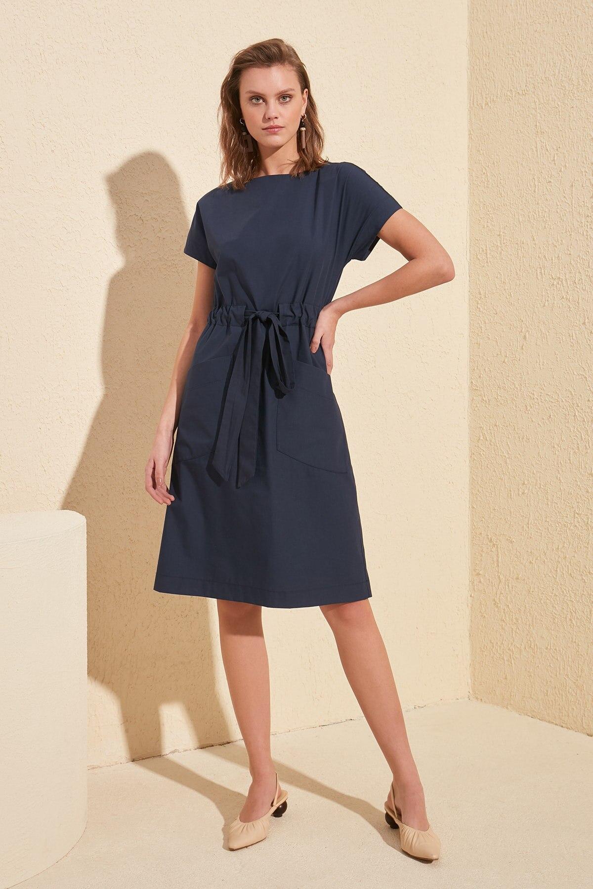 Trendyol Pockets Dress TWOSS20EL1901