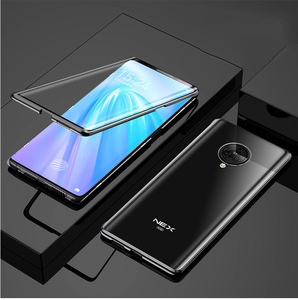 Image 5 - Case for VIVO NEX 3 360° Full Protection Magneto Magnetic Cases Cover for VIVO NEX 3 5G Adsorption Metal double Glass Case