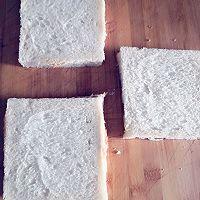 面包片的肉松卷的做法图解3