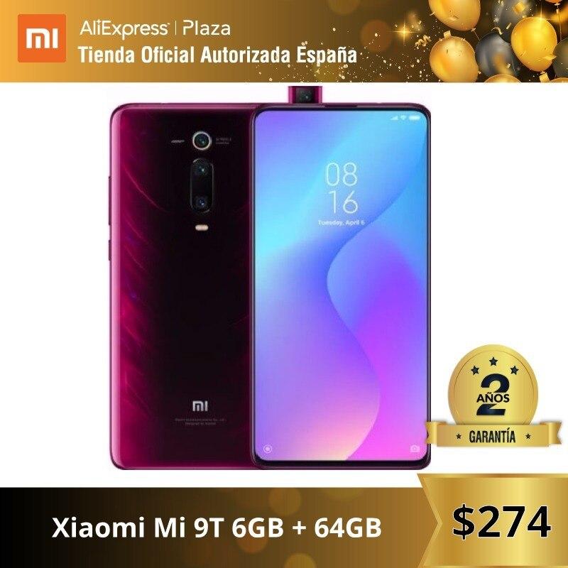 [Global Version For Spain] Xiaomi Mi 9T (Memoria Interna De 64GB, RAM De 6GB, Triple Cámara De 48 MP)smartphone