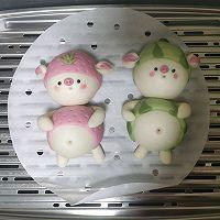 草莓猪&西瓜猪的做法图解24