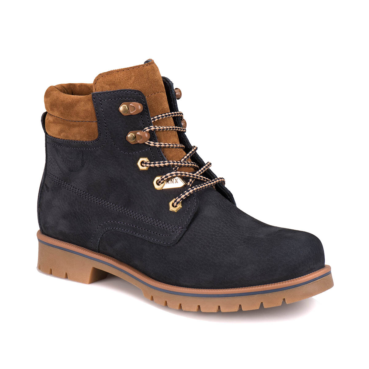 FLO A1305072 Navy Blue Men 'S Boots KINETIX