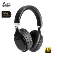 Wired Headphone Bluetooth-Headset ANC Active Noise Hifi-Sound Deep-Bass Cancelling
