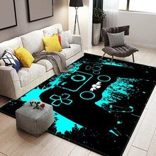 Cartoon Kid Carpet Game Controller Printed Carpets for Living Room Bedroom Floor Mat 80x160cm alfombras grandes Drop Shipping