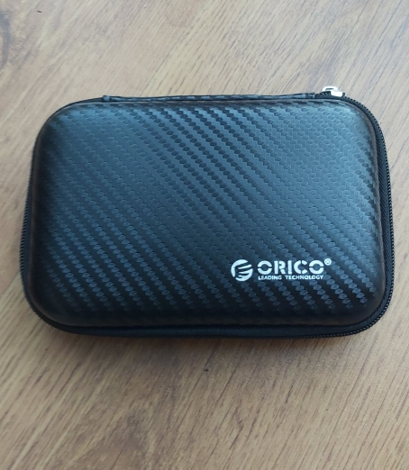 ORICO 2.5 Hard Disk Case Portable HDD Protection Bag for External 2.5 inch Hard Drive Earphone U Disk Hard Disk Drive Case Black reviews №2 144265