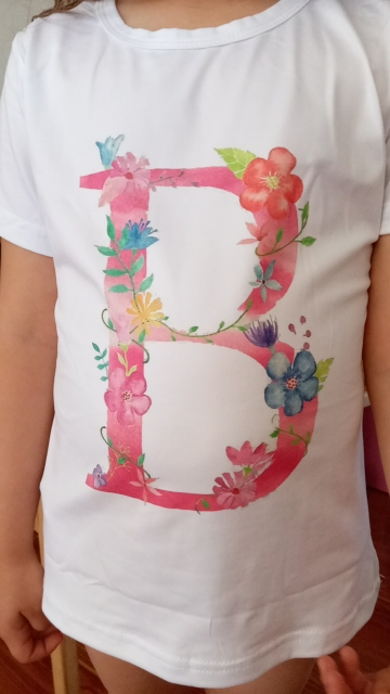 New Arrival Plant Letter Name Novelty Girls Tshirt Kawaii Casual T Shirt Boys Unisex Kids Clothing Crew Neck Girl Clothes Summer photo review
