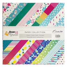 CRZCrafter 12 Inch Scrapbooking Papers 20 Sheets Craft Background Decorative Pattern Paper Designer Pack DIY 305x305mm Acid Free