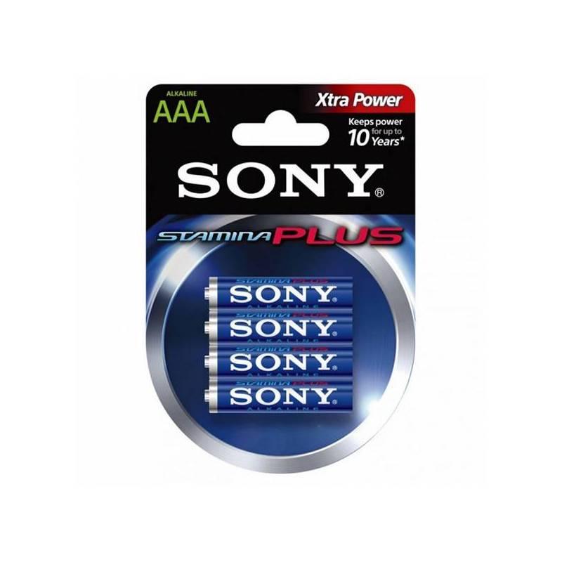 Alkaline Battery Sony AM4L-B4D AM4L-B4D 1,5 V AAA (4 Pcs) Blue Green