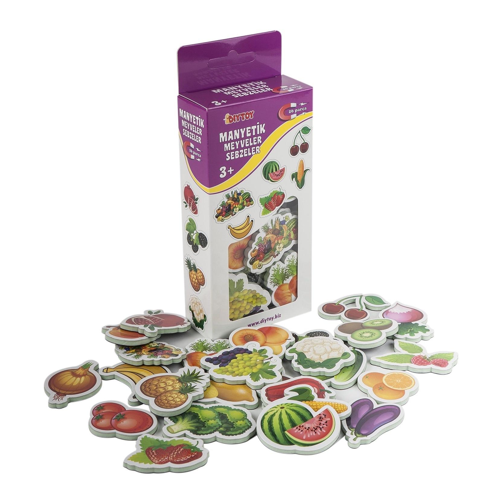 Ebebek Dıy Toy Magnetic Fruits Vegetables Age 3+