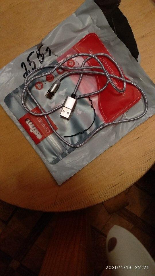 Cafele 100cm LED Magnetic USB Cable Magnet Plug + USB C Cable + Micro USB Cable + USB Cable for iPhone X 8 7 6 Plus 5S SE|Mobile Phone Cables| |  - AliExpress