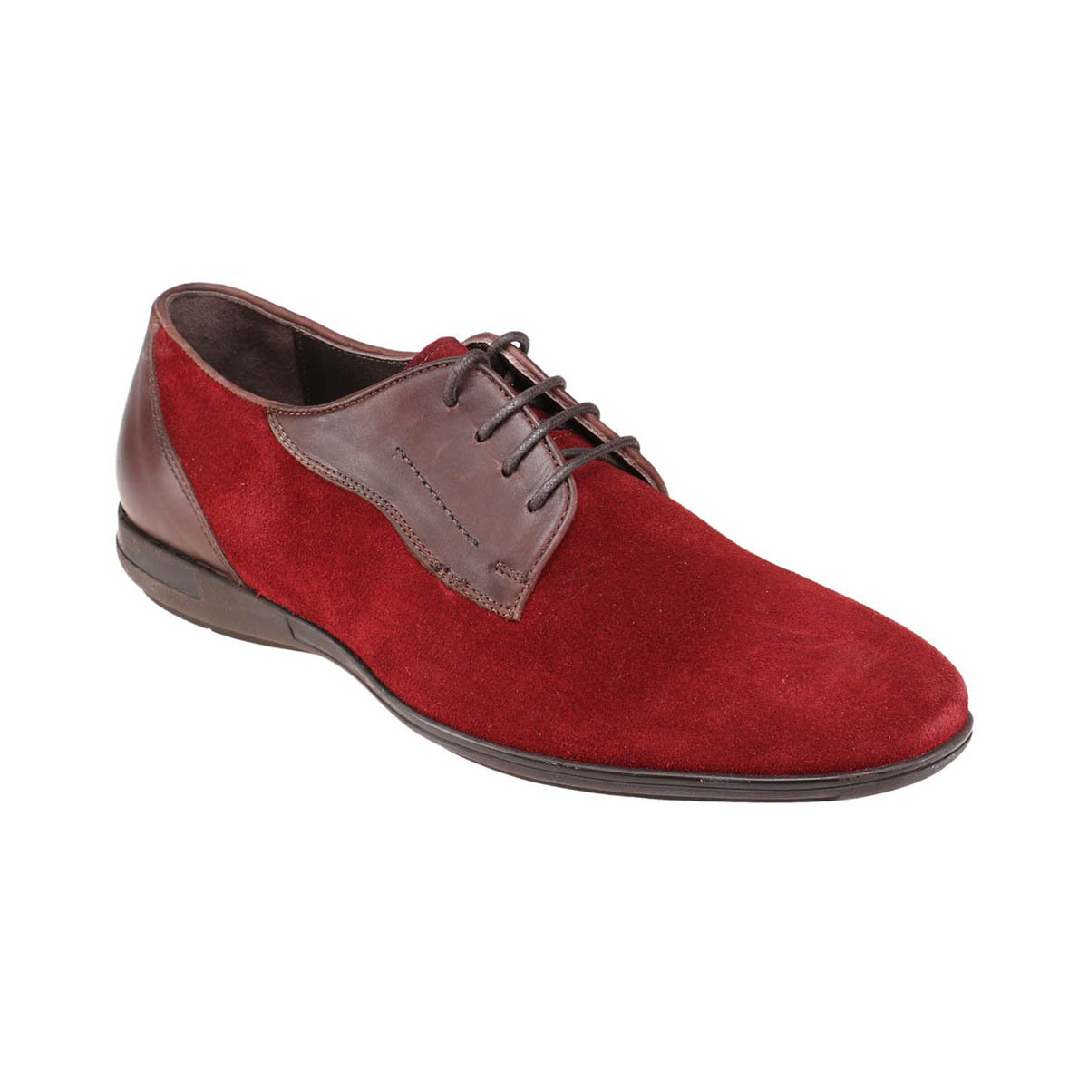 FLO KL-59123-2 M 1506 Borgoña zapatos clásicos para hombre JJ-Stiller