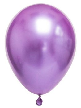 Chrome Balloon Purple 100 PCs Balloon 100lü Balloon