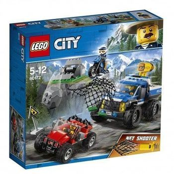 LEGO City Police Layman Hunting on the road, unique