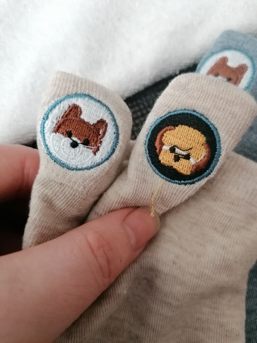Harajuku Skarpetki Funny Ankle Socks Embroidery Animal Pug Cute Socks Women Divertidos Creative Sokken Kawaii Chaussette Femme