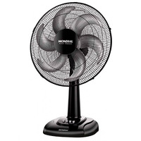 Table Fan Mondial V64 85W 40 cm Black Fans     -