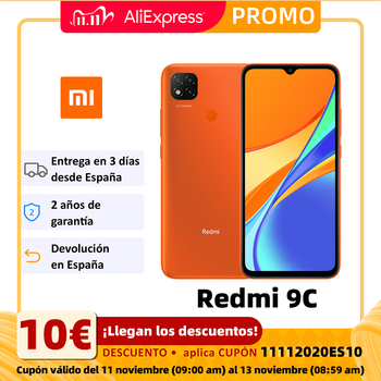 Xiaomi Redmi 9C Smartphone (2GB RAM 32GB ROM Mobile Phone Free New Cheap Android Battery 5000mAh)[Global Version]