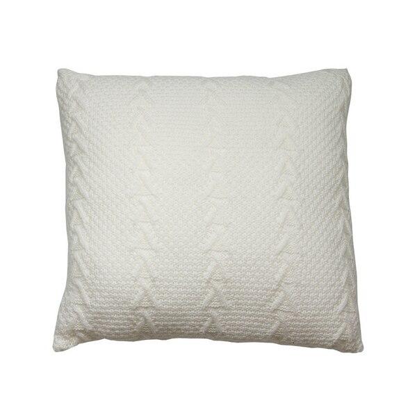 Cushion Stitch White (45 X 45 X 10 Cm)