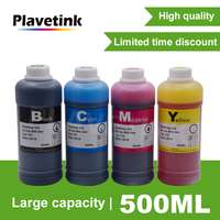 Plavetink 500ml 병 잉크 리필 키트 canon pgi570 cli571 pgi480 cli481 pgi580 cli581 pgi520 cli521 프린터 잉크 카트리지