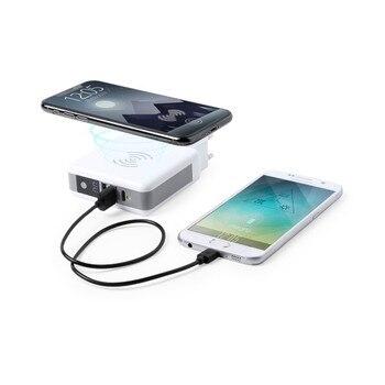Wireless Power Bank 6700 mAh USB-C White 146141