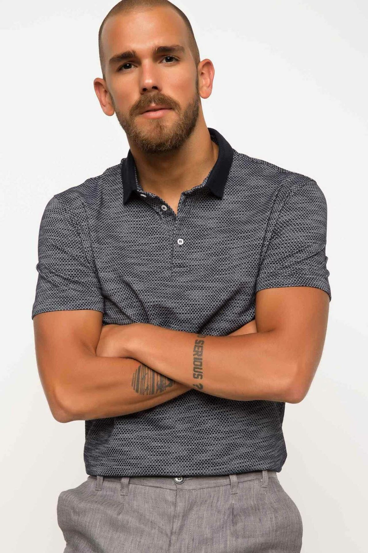 DeFacto Man   Polo   Shirt-H3293AZ17AU