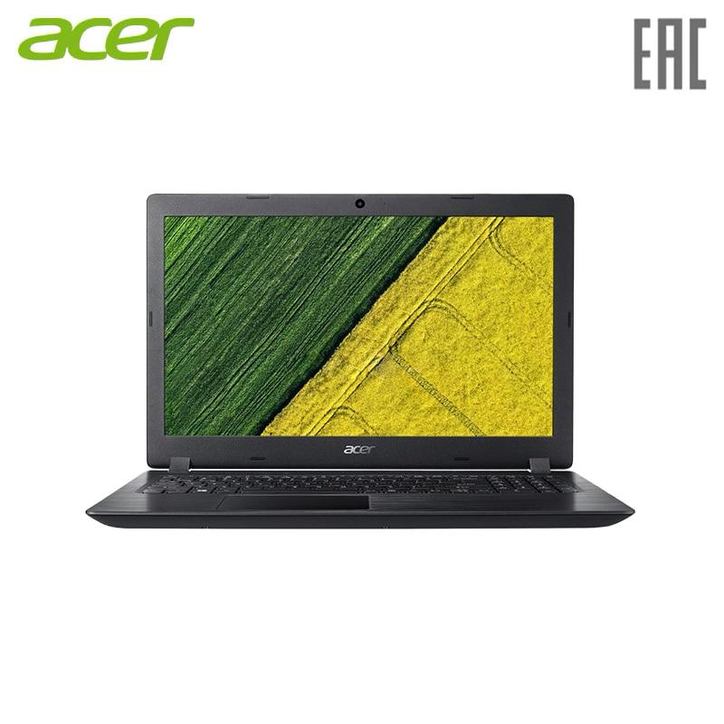 "Laptop Acer Aspire A315-21-63VF A6 9220e/4 GB/SSD128Gb/Radeon R4/15.6 ""/FHD (1920x1080) /Windows 10/Black (NX. GNVER.103)"