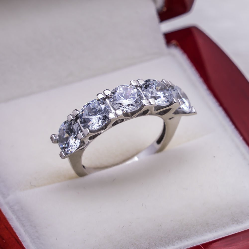 925 sterling Silver Dibs Lady Ring Model 8()