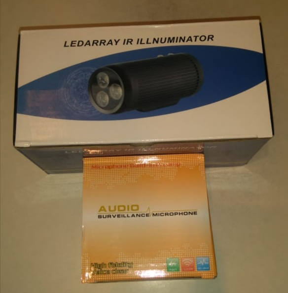 CCTV LEDS 12W զանգված IR led լուսավորիչ Light 850nm IR Ինֆրակարմիր անջրանցիկ գիշերային տեսողություն 10 100 մ CCTV լրացնել լույսը CCTV ֆոտոխցիկի համար