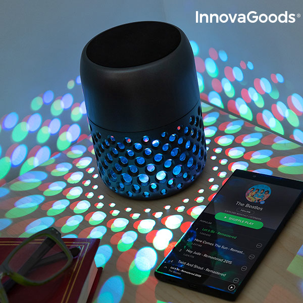 InnovaGoods Mandalamp Decorative Lamp with Speaker|  - title=