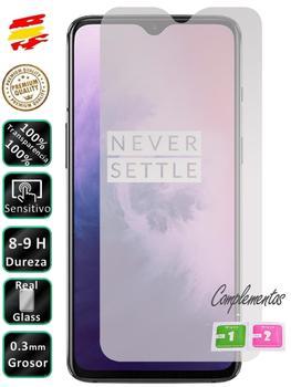 Protector para Oneplus 7 Cristal Templado de Pantalla Vidrio 9H para movil