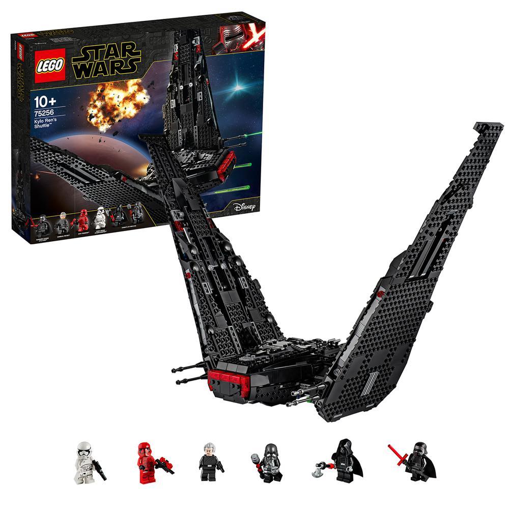 LEGO Star Wars TM | Lanzadera de Kylo Ren | Juguete Star Wars Kylo Ren Aventura Set De Construcción Star Wars Figuras (75256)| | - AliExpress