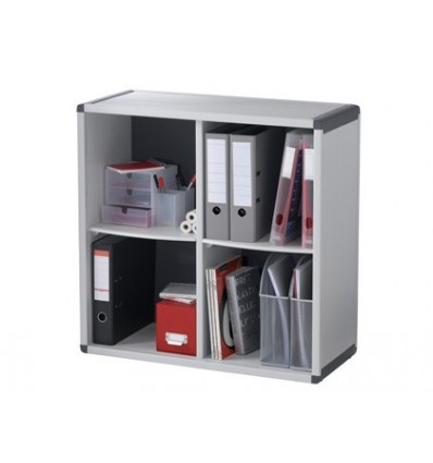 CABINET SHELF 4 BOXES FAST-PAPERFLOW 790X778X330 MM