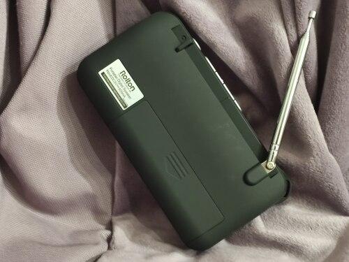 Rádio Locutor Verificação Portátil
