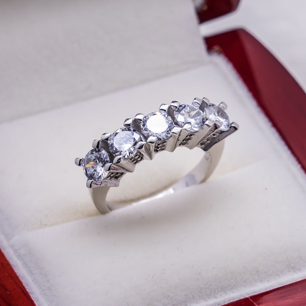 925 sterling Silver Dibs Lady Ring Model 1()